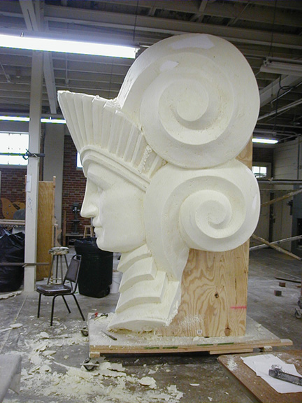Foam sculpture techniques pictures to pin on pinterest
