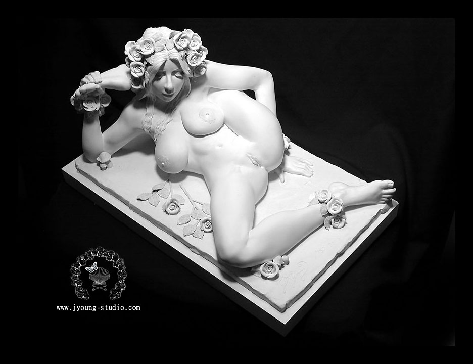 Serie the nude contortionist